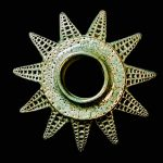 #115. Diatom D, 3.5″ x 7.5″