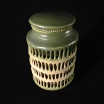 #25. Covered Jar, 7.5″ x 4.5″