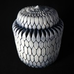 #32. Covered Jar, 8″ x 6″